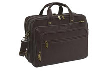 eBags Laptop Collection Colombian Leather Laptop Briefcase