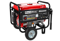 DuroStar 4,400-Watt Portable Recoil Start Gas-Powered Generator