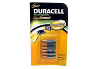 Duracell Pre-Charged Rechargeable 800mAh AAA Batteries, 6/PK