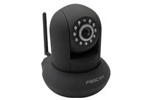 Foscam Wireless/Wired Pan & Tilt Dome-Shaped IP Surveillance Camera