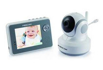 Foscam 2.4GHz Wireless Baby Monitor w/ 3.5inch LCD