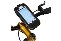 BikeX Heavy Duty Waterproof Shockproof Bicycle Mount Holder for iPhone 5