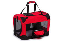 Pet Life Folding Zippered Sporty Mesh Carrier (2 Sizes)