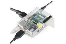 Raspberry Pi Bundle with Clear Case