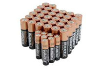 Duracell 32 x AA + 8 x AAA Copper Top Alkaline Batteries