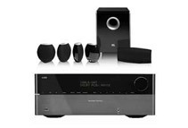 Harman Kardon 7.1 Ch 3D AV Receiver & JBL 5.1 Speaker System Bundle, Black
