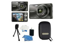 Sony Cyber-Shot 12.1 MP Digital Camera DSC-W290, Black