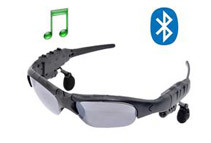 Bluetooth Hands-free Talk Headset Sunglasses + AC Charger