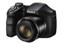Sony Cyber-Shot 20.1MP Digital Camera DSC-H200, Black