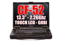 Refurbished: Pansonic CF-52 Notebook 2.26GHz Core 2 Duo 4GB RAM 160GB