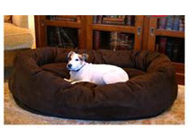 Majestic Pet Bagel & Donut Beds (3 Sizes)