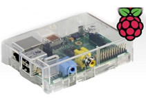 EasyAsPi Raspberry Pi Bundle with Clear Case