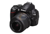 Nikon D3000 10.2MP Digital SLR Camera w/ NIKKOR VR Lens