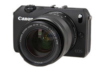 Canon EOS M 18MP 3.0inch 1040K LCD Compact Mirrorless System Camera Kit
