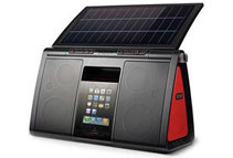 Eton Corp Soulra XL Solar Dock Speaker System for iPod/iPhone