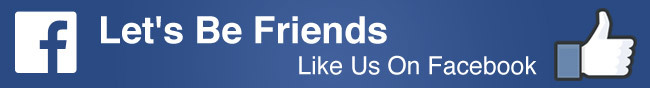 Let's Be Friends Like Us On Facebook