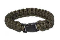 Every Day Carry 9.5inch Survival Paracord Bracelet (7 Colors)