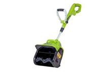 Refurbished: Greenworks 7-Amp 12inch Electric Snow Thrower