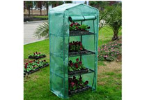 Outsunny 4-Tier Portable Backyard Greenhouse