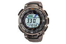 Pathfinder Men's Grey Dial Triple Sensor Compass Digital Watch