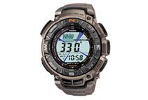 Pathfinder Men's Grey Dial Triple Sensor Compass Digital Watch