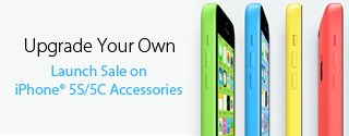 Upgrade Your Own Launch Sale on iPhone 5S/5C Accessories