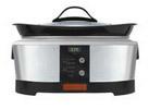 Crock Pot 6-Quart Brushed Stainless Steel Slow Cooker