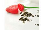 Strawberry Silicone Tea Leaf Strainer