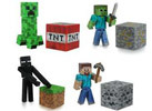 Minecraft Series 1 3inch Figures, Set Of 4