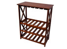 Montego X Wine Rack, Walnut