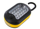 27 LED Worklight Flashlight w/ Built-In Hook Hanger & Magnet