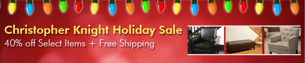 Christopher Knight Holiday Sale