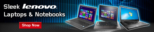 Sleek Lenovo Laptops and Notebooks