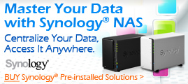 Master Your Data with Synology NAS