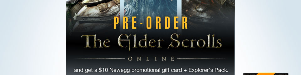 PRE-ORDER THE ELDER SCROLLS: ONLINE