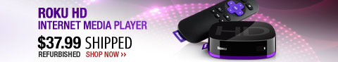Newegg Flash - Roku HD Internet Media Player.