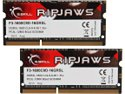 G.SKILL Ripjaws Series 16GB (2 x 8G) 204-Pin DDR3 SO-DIMM DDR3 1600 Laptop Memory