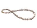 Lustére Collection – Gem Quality, Handpicked 5.5-8.5mm Iridescent Lavender Pearls w/ Rare Metallic Luster