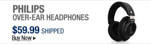 Newegg FlashPhilips Over-Ear Headphone