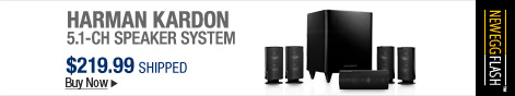 Newegg Flash - Harman Kardon 5.1-CH Speaker System