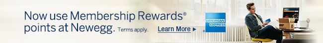 Now use Membership Rewards points at Newegg.