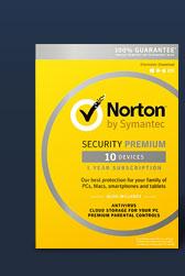 Symantec Norton Security Premium - 10 Devices