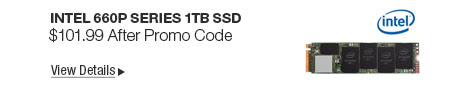 Newegg Flash - Intel 660p Series 1TB SSD