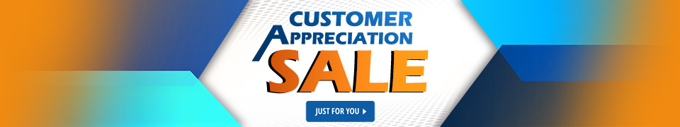 ​​Customer Appreciation Sale