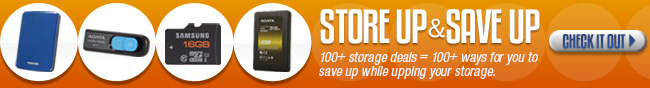 Storage - Store Up & Save Up. 100+ storage deals = 100 + ways for you to save up while upping your storage. Check it out.