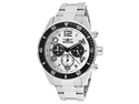 Invicta Men's Pro Diver Chronograph White Textured Dial Stainless Steel