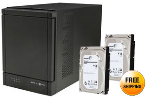 SANS DIGITAL TR4UTBPN 4Bay USB 3.0 / eSATA Hardware RAID 5 Tower RAID Enclosure (no eSATA card bundled)