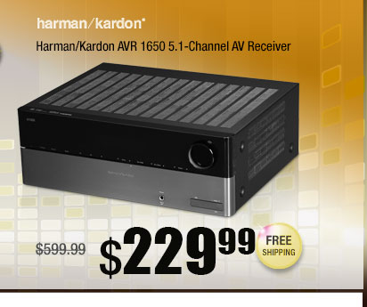 Harman/Kardon AVR 1650 5.1-Channel AV Receiver