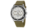 Timberland Steprock Chrono QT7129305 Men's White Dial Stainless Steel Quartz Chronograph Watch