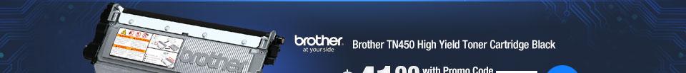 Brother TN450 High Yield Toner Cartridge Black